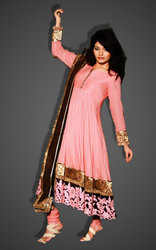 Purchase Anarkali in cotton Designer dress - fashion1world.com