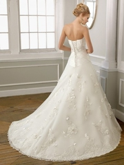 Sweep Train Sweetheart Princess Wedding Dress