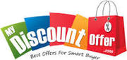 Get best Discount coupons & Offers For Shopping at MyDiscountoffer