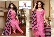 kanche kreation & kollection wholesaler of ladies fancy suits