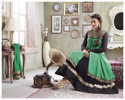 Gauhar Khan Authentic Anarkali Suit to attain satisfactory look