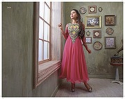 Anarkali Suit of Gauhar Khan that denotes astonishing appearance