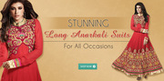 Ramafashions.com - Designer Anarkali Salwar Suit @ Best Prices