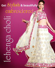 Embroidered Lehenga Choli Enlivening Your Panache