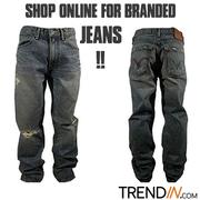 Shop online for branded jeans