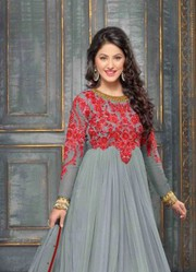 VandV Colorful Designer Gray Designer Suits just only on Rs.1999/-