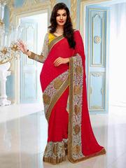Buy Online Shopping indian Designer Sarees In Surat-India At Parisworl