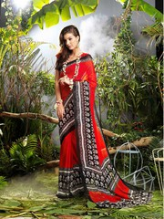 Indian casual sarees shopping  at parisworld in surat india