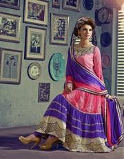 Buy online Indian designer anarkali salwar kameez