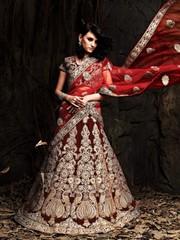 Buy Pre & Post Wedding Lehenga Choli Online in India & UK