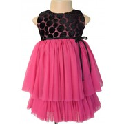 Deep Mauve Party Dress For Your Child