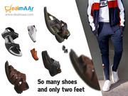 Shop for best branded footwear online at Dealmaar