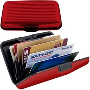 Aluminum Wallet with Cash Band Rugged Waterproof Wallet