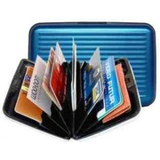 Aluminum wallet Rugged Water Resistant Wallet and Card Holder
