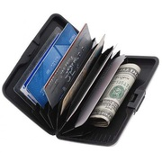 Aluminium Rugged Card Holder Style Clutch Wallet for Men