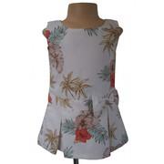 Poplin Print Dress Made By Faye