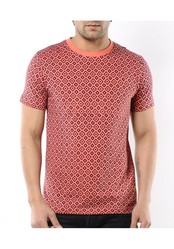Aberdeen Mens Coral And Navy Tog t shirt