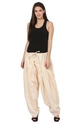 Fusion Wear Online- Solid Semi Patiala Cotton Salwar| Shoppyzip