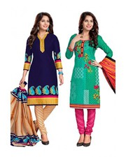 Buy Women Dress Materials Online at Best Prices in India