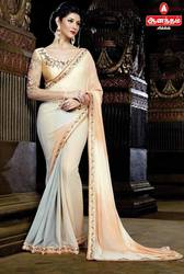 Anantham Silks in Georgette Material Saree