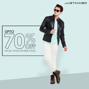 A Globally Well-known brand for Leather Jackets for men: Justanned
