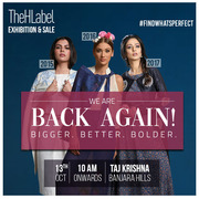 Thehlabel Sale,  The Awe-Inspiring Fashion Sale At Hyderabad