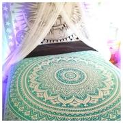 Hand Made Peacock Bedspread Bed Sheet Picnic Sheet Wall Hangings Throw