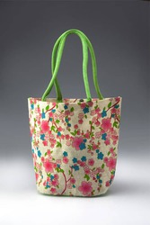 Finest Quality  Tote Beach Bags Flower Print manufacturer,  exporter