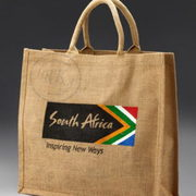 Jute Shopping Bags with print Manufacturer,  Exporter,  Supplier India