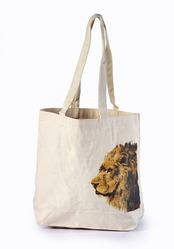 Canvas Tote Bag Lion Printed Manufacturer from Kolkata