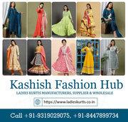 Ladies Kurtis Manufacturers,  Supplier & Wholesale in Delhi